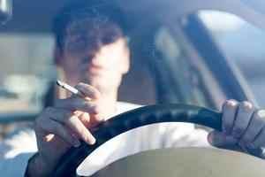fumer en voiture