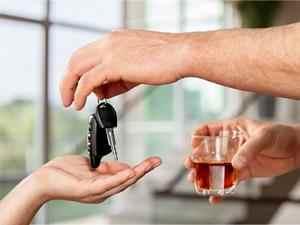 Risques si positif à un test d'alcoolémie