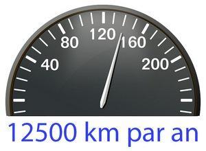 12500 km par an