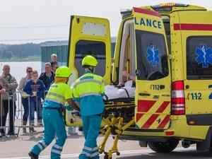 blessés après un accident auto