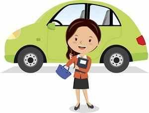 Voiture de remplacement en cas d'accident