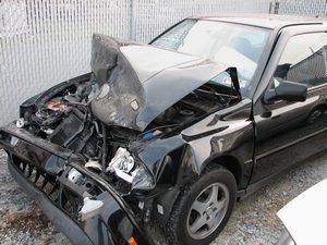 Accident avec une voiture de remplacement