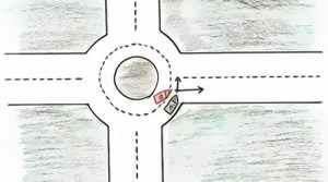 Responsabilités en cas d'accident dans un rond-point